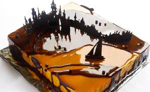 I Create Chocolate Worlds On The Mirror Glaze Cakes