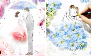 These Heartwarming Floral Illustrations Of Couples Will Make You Fall In Love Again