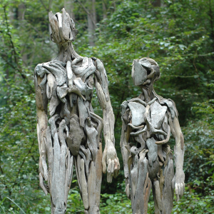 Haunting Driftwood Sculptures By Japanese Artist Nagato Iwasaki