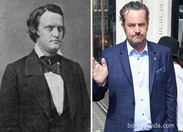 Lawyer, Politician, Soldier , And Youngest-Ever Vice President Of The United States John C. Breckinridge (1821-1875) And Matthew Perry