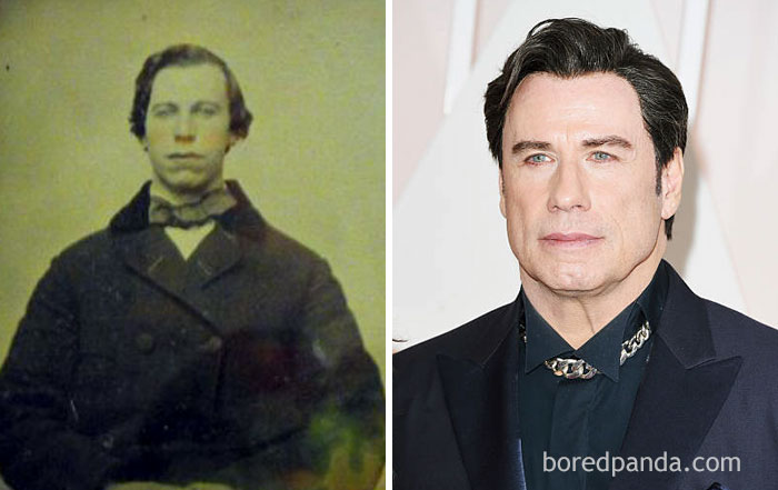 This Man From 1860's And John Travolta