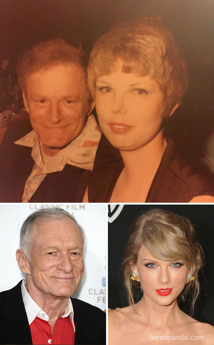 When Your Grandma Looks Like Taylor Swift And Your Grandpa Looks Like Hugh Hefner's Brother
