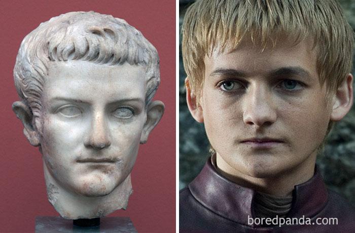 Roman Emperor Caligula And Jack Gleeson