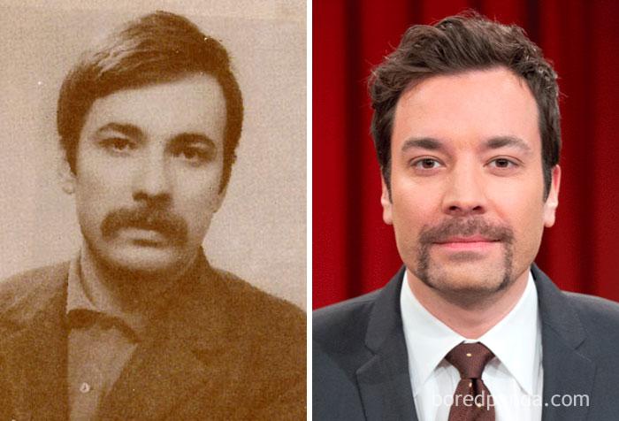 Marxist-Leninist Revolutionary Leader Mahir Cayan (1946-1972) And Jimmy Fallon