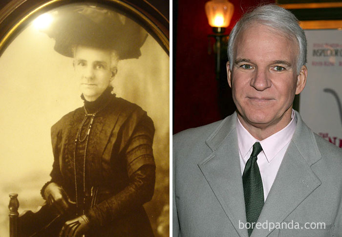 My Friend's Boyfriend Had A Great Great Grandmother Who Looked Exactly Like Steve Martin If He Were In A Victorian-Era Cross-Dressing Comedy
