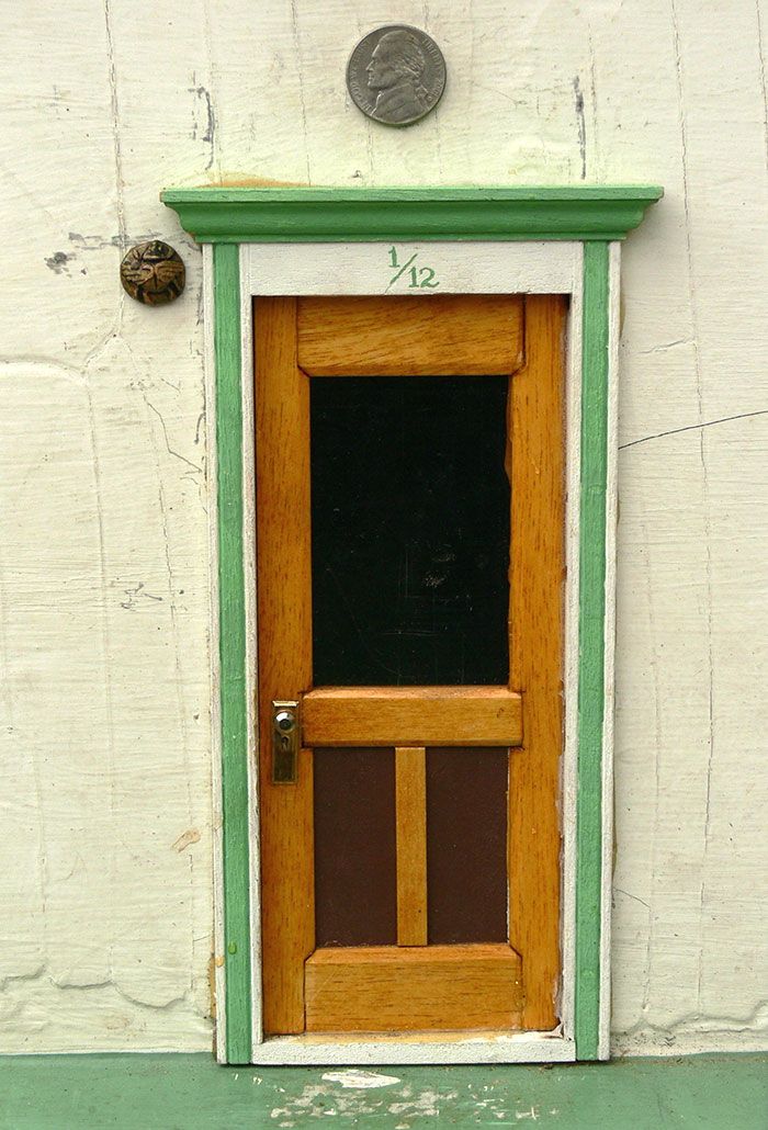 Mysterious tiny doors keep appearing across this town and for The little fairy door