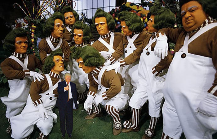 Oompa Loompas Disapprove. So Sad.