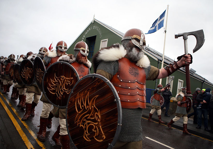 Epic Photos From Viking Festival In Scotland