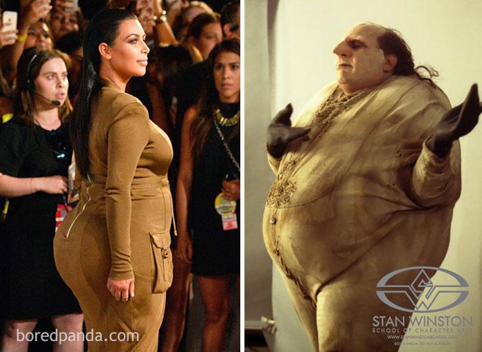 Kim Kardashian Or Danny Devito As A Penguin?
