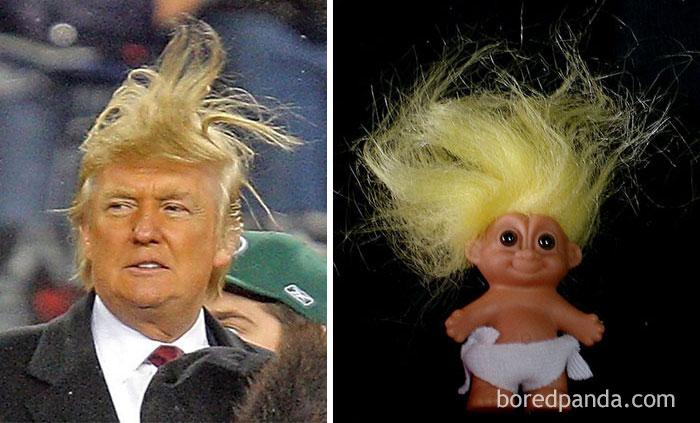 Donald Trump Or A Troll Doll?
