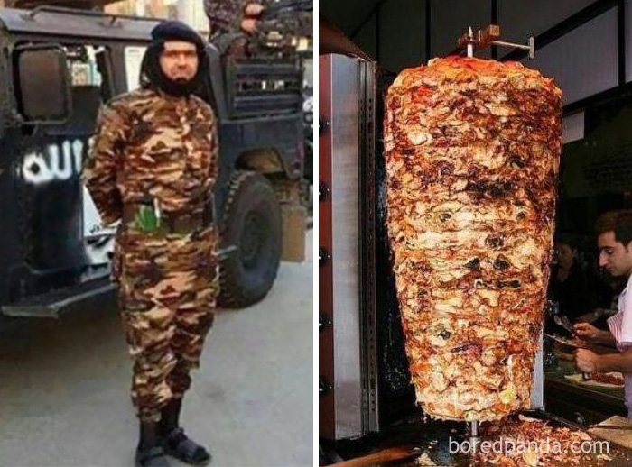 ISIS Commander Abu Wahib Or Doner Kebab?