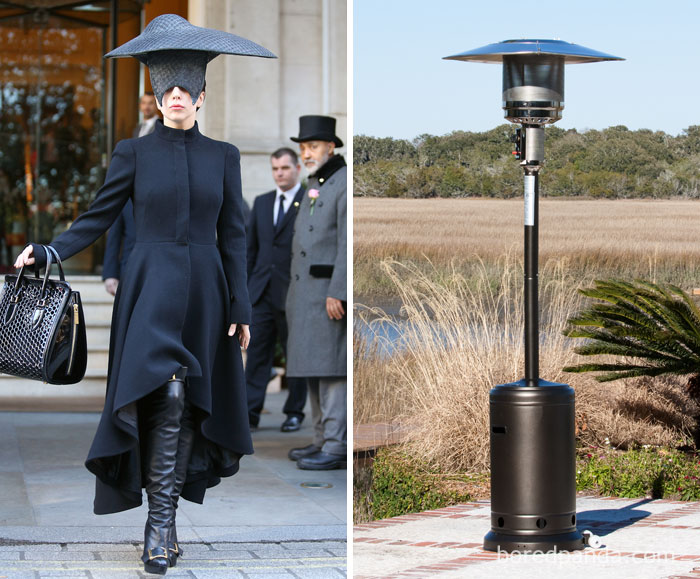 Lady Gaga Or This Patio Heater?