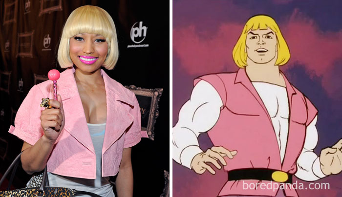 Nicki Minaj Or He-Man?