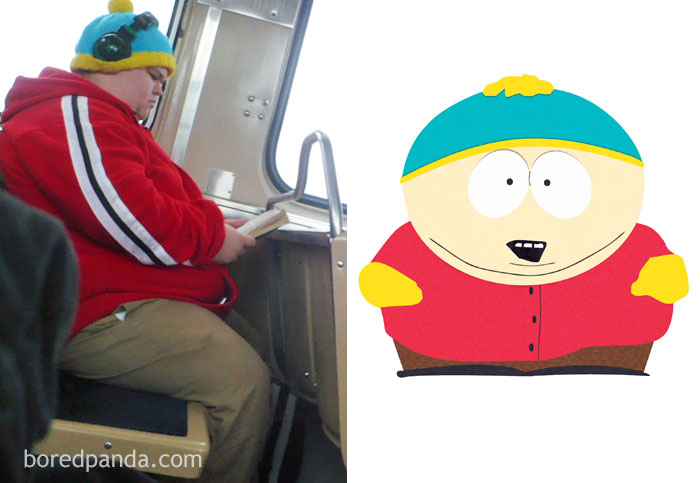 This Guy In A Bus Or Eric Cartman?