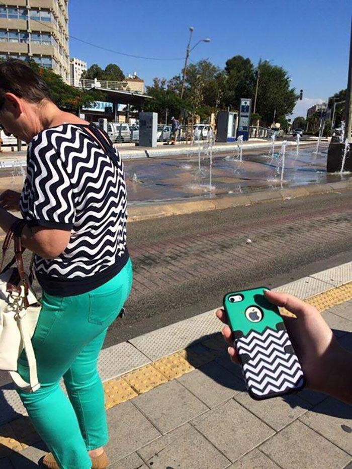 This Woman Or An iPhone Case?