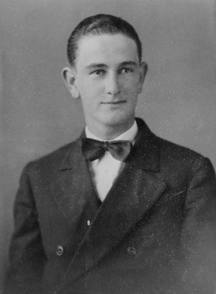 Lyndon Johnson, Age 18