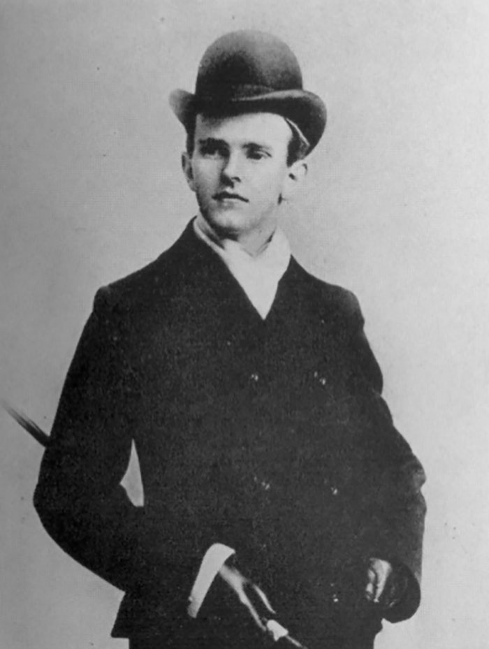 Calvin Coolidge, between 19 and 23 years