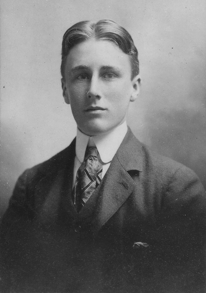 Franklin Roosevelt, age 18