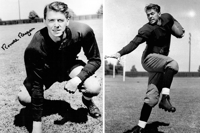 Ronald Reagan, age 18