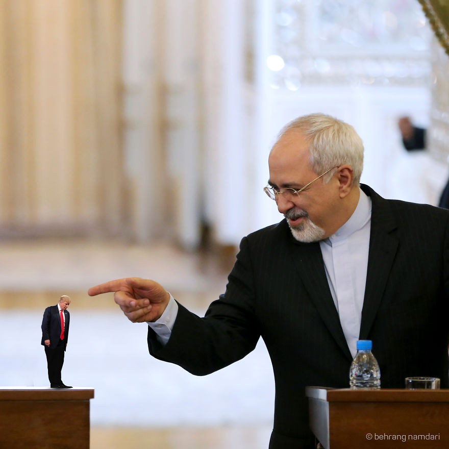 #50 Javad Zarif And Tiny Trump In Nuclear Negotiations.!