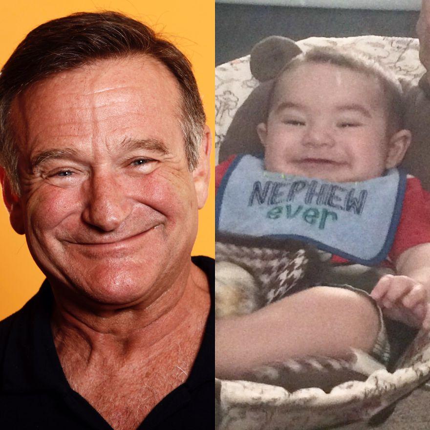 My Son Looks Like Robin Williams