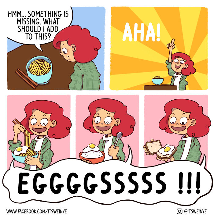 """Hilariously Relatable Comics By Malaysian Redhead Artist, """"it's Weinye"""""""