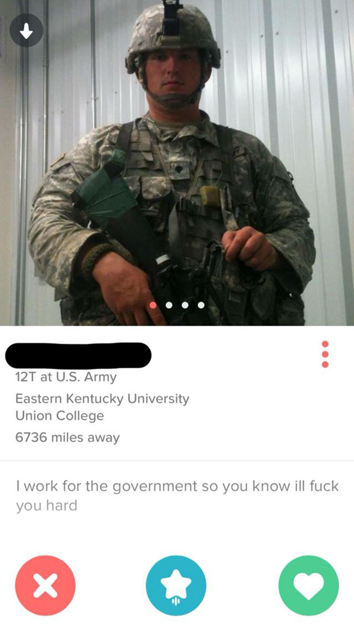 There's Always That One Guy That Posts A Pic In Full Battle Rattle