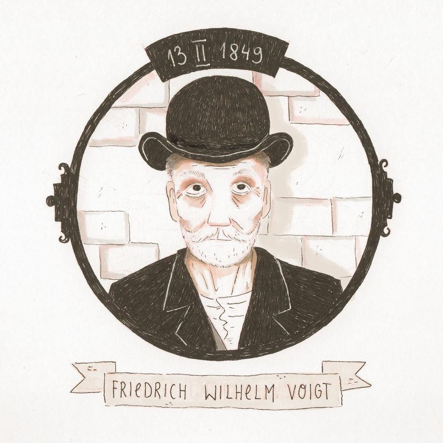 13/02 Friedrich Wilhelm Voigt