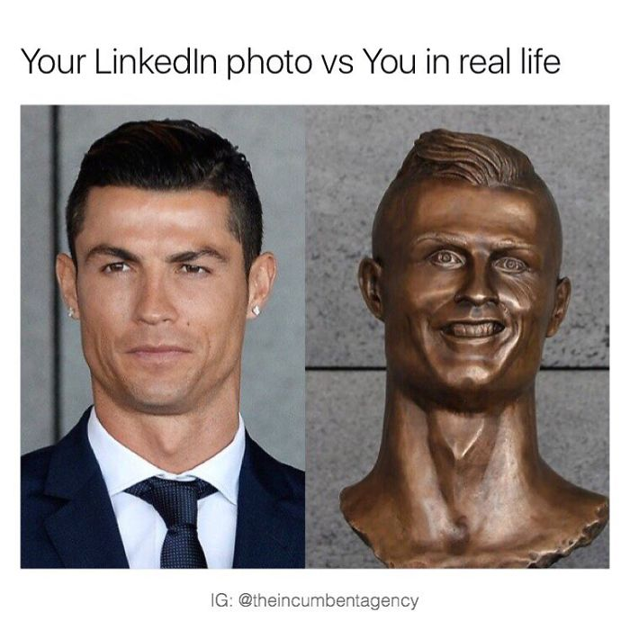 Your Linkedin Photo Vs You In Real Life