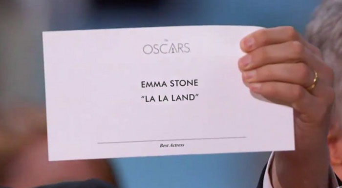 Oscars' Epic Best Picture Fail Shows Why Typography Is So Important
