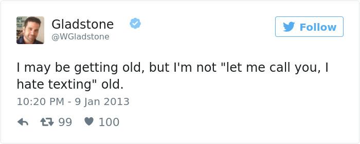 Growing Old Tweets