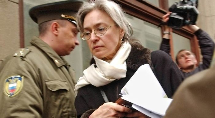 Anna Stepanovna Politkovskaya - A Russian Journalist, Writer, And Human Rights Activist Known For Her Opposition To The Second Chechen War And To The Policies Of Russian President Vladimir Putin.