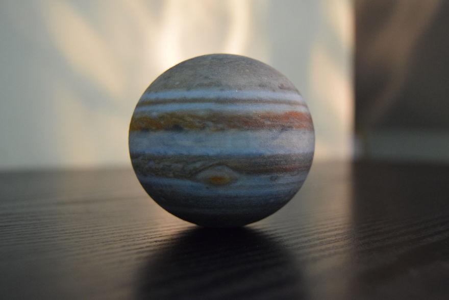 Oblate Jupiter Globe