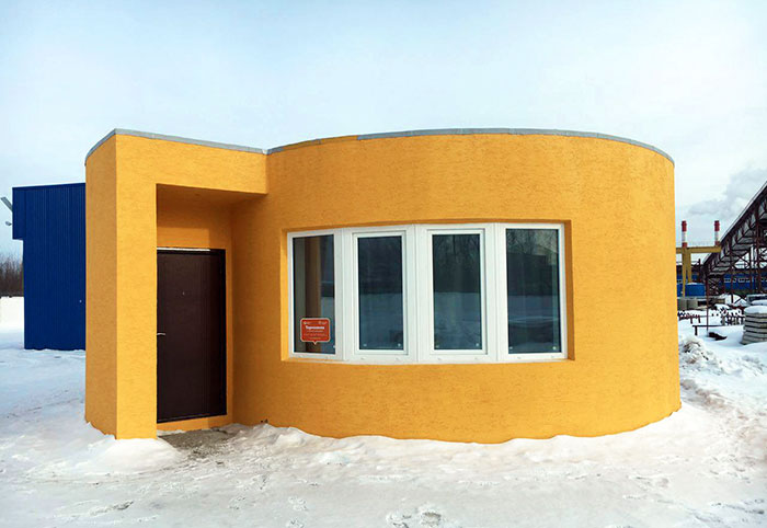 This House Was 3D-Printed In Just 24 Hours For Less Than $11k