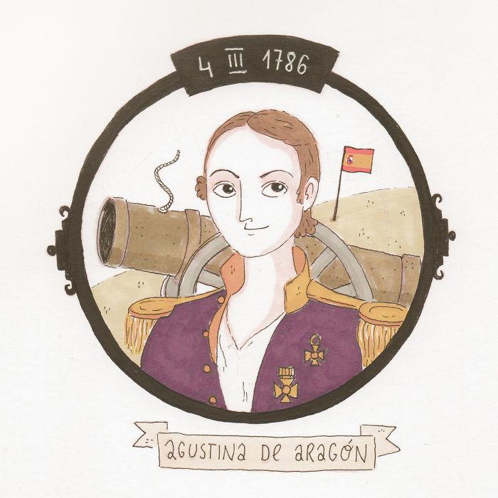 4/03 Agustina De Aragon