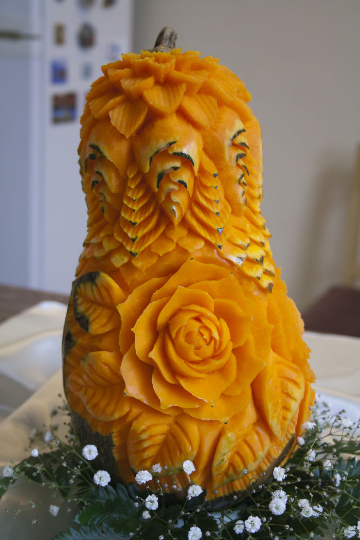 Carvings From Fruit And Vegetables