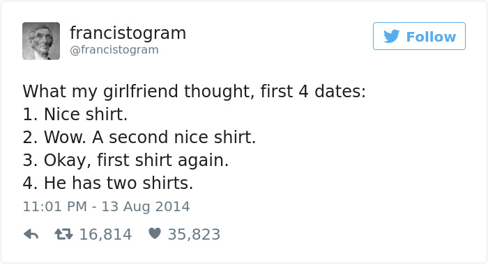 Dating Tweet