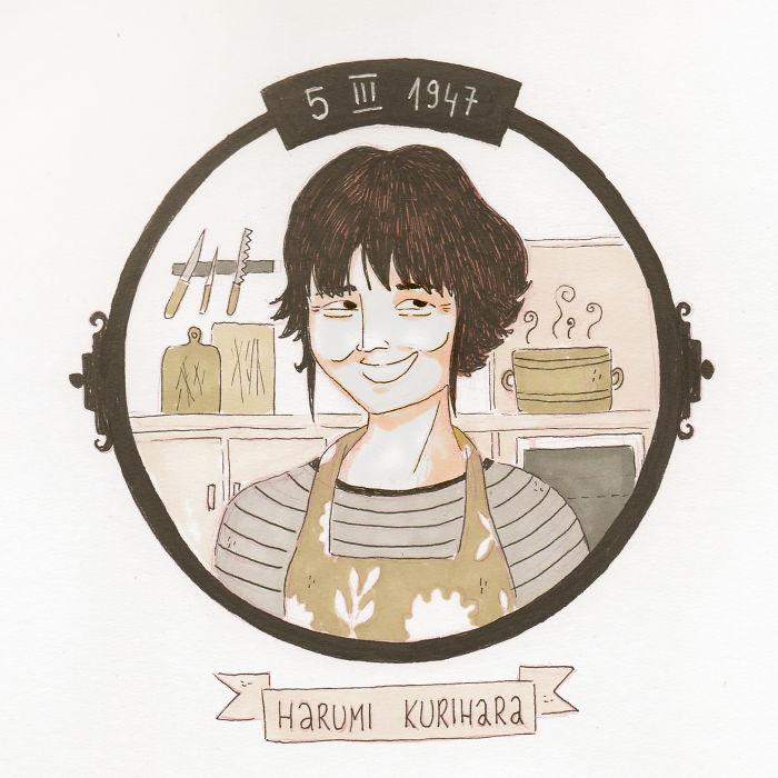 5/03 Harumi Kurihara
