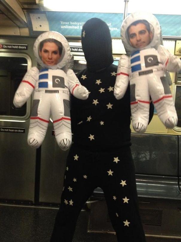 Gravity Costume
