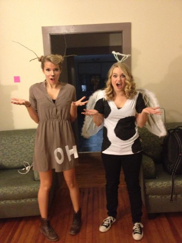 Oh Deer And Holy Cow Costumes