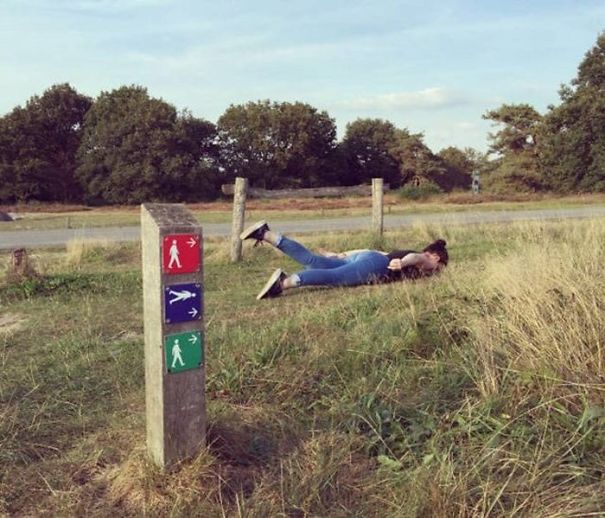 Why People Don't Obey Signs