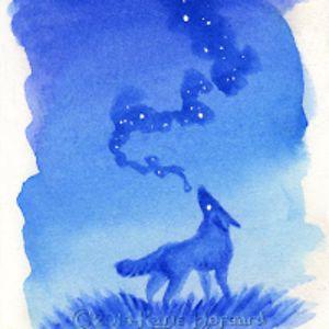 Fluorite Wolf (Wolfy)