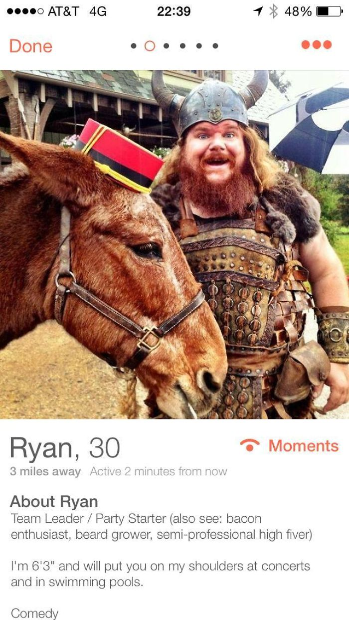 I Hope This Guy Finds Love On Tinder. He's Awesome