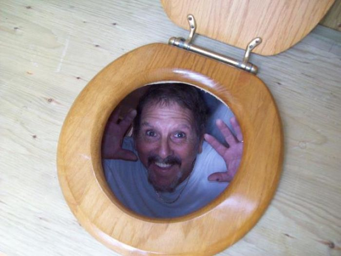 My Dad Is Building An Outhouse. This Is What He Sends Me...