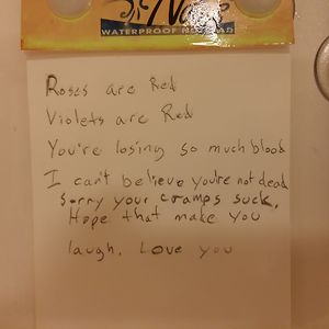 Left This Note For My Wife