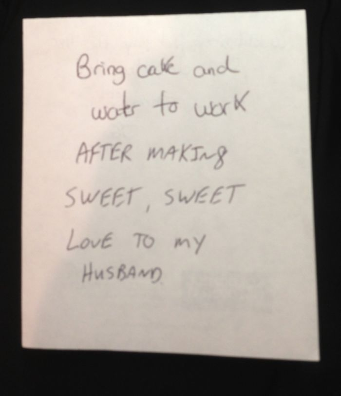 I Like To Edit My Wife's Reminder Notes