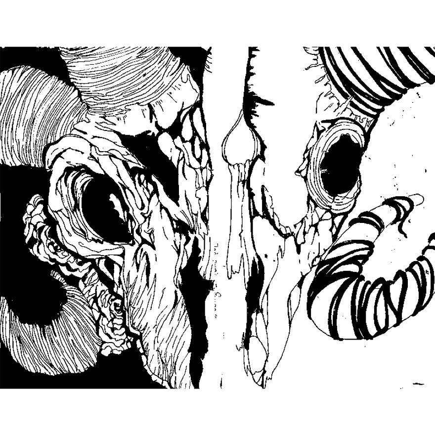 I Enjoy Creating Art Using Black Pens