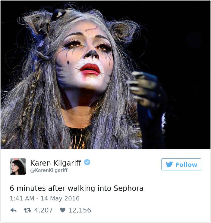 Relatable Woman Tweet