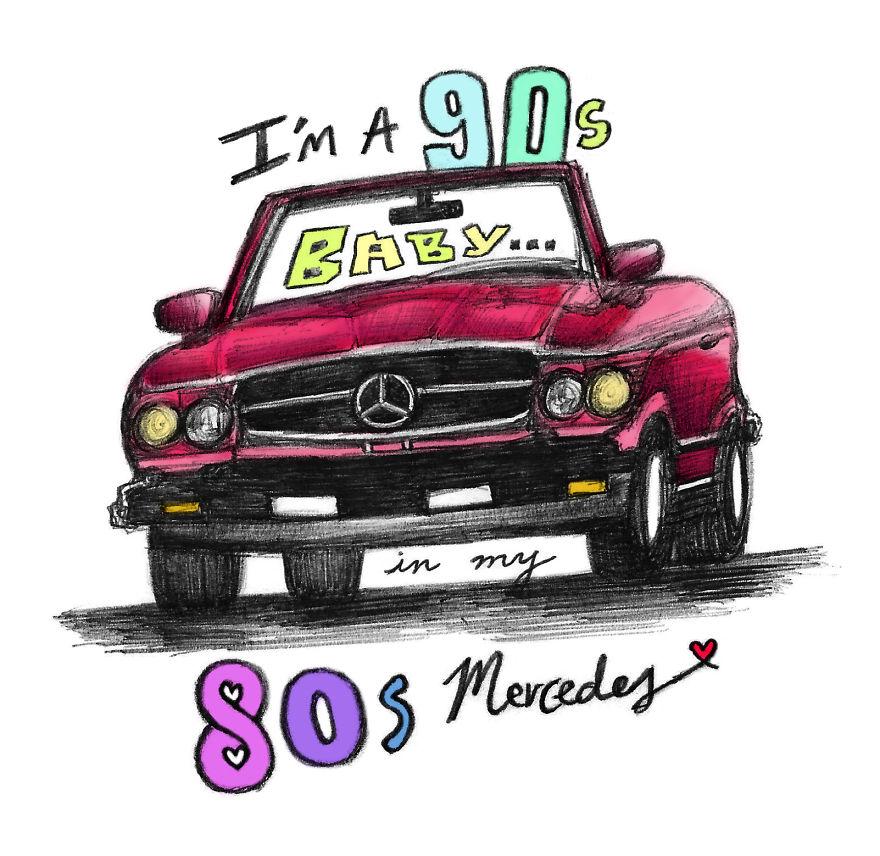 """""""80s Mercedes"""" By Maren Morris"""