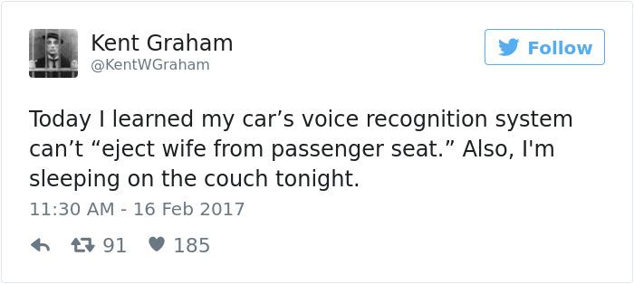 Husband Tweets